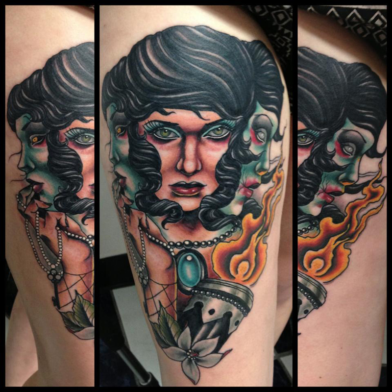 Justin Harris Tattoo Artist