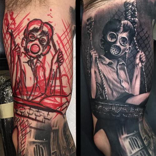 luke palan tattoo artist 16th annual boston tattoo convention