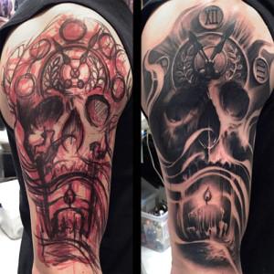 Tattoo Convention Boston 2017 Luke Palan