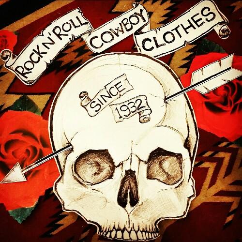 Rick Walker's, 2017 Boston Tattoo Convention Sponser, Rock n' Roll Cowboy Clothes