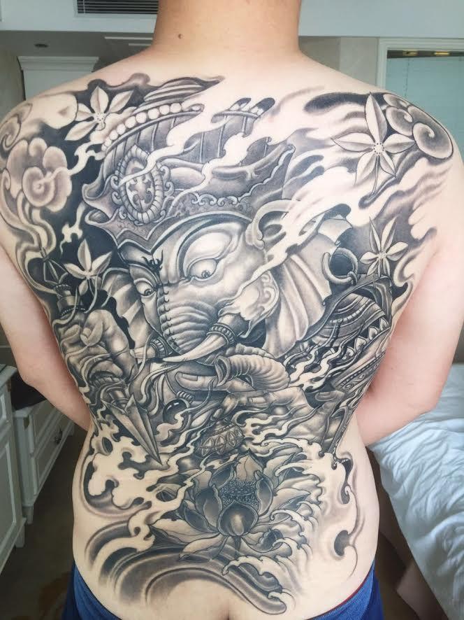 Yue liang li boston tattoo convention for Tattoo artists boston